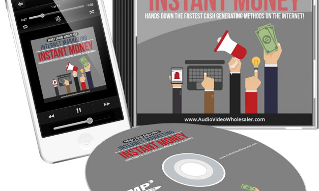 Internet Marketing Instant Money Audio Book
