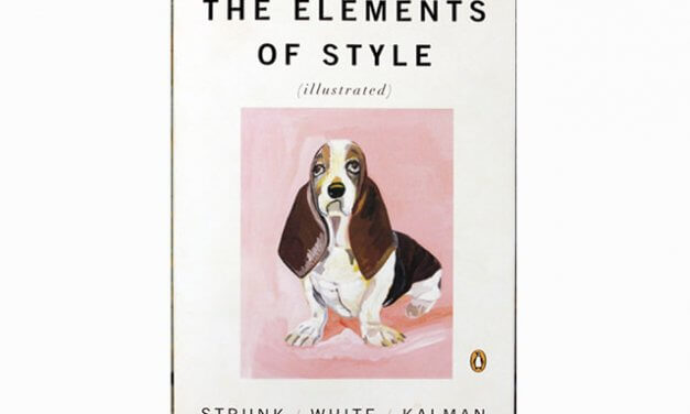 Elements of Style, by Strunk and White