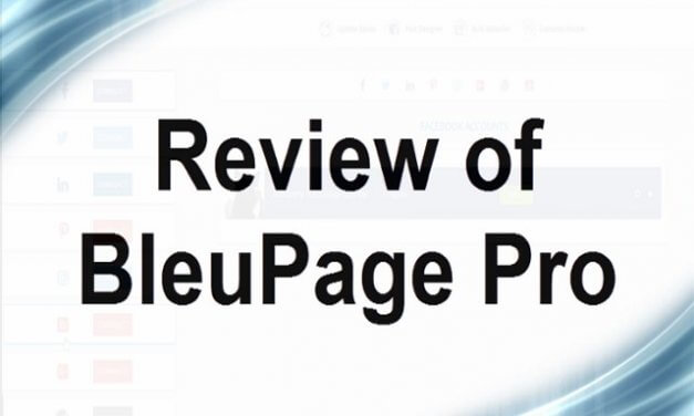 Review of BleuPage Pro Social Media Software